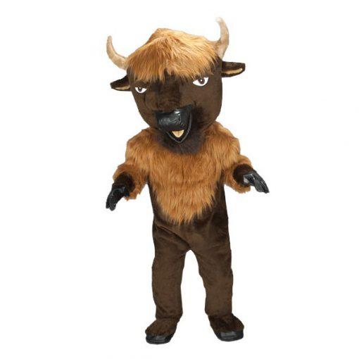 Complete buffel mascotte