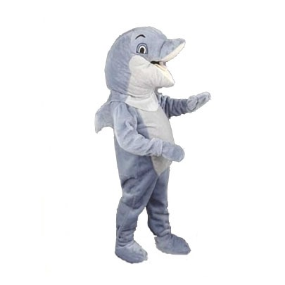 Complete dolfijn mascotte