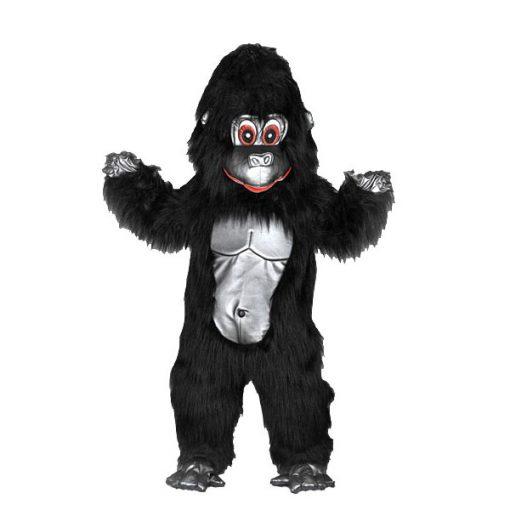 Complete gorilla mascotte