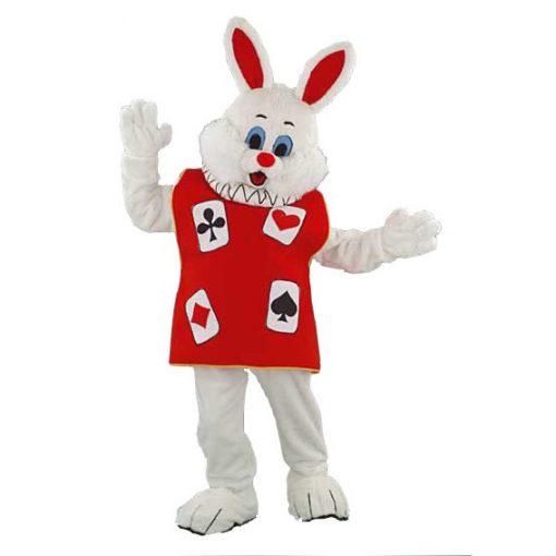 konijnenpak, konijn mascotte