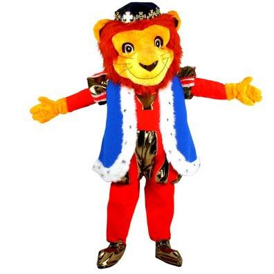 Koning Leeuw mascotte