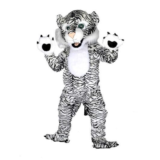 Complete tijger mascotte