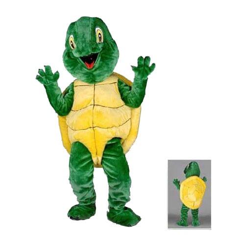 Complete schildpad mascotte