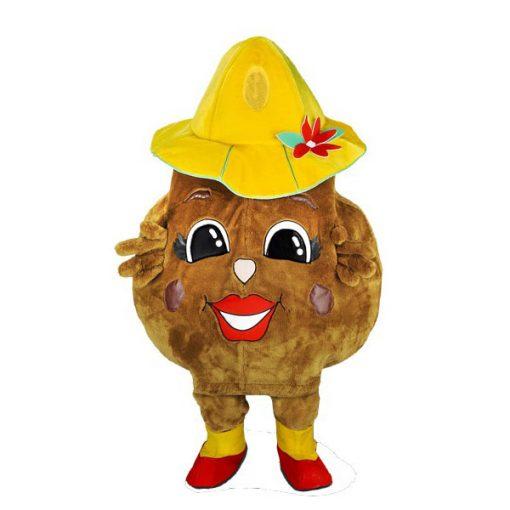 Complete aardappel mascotte