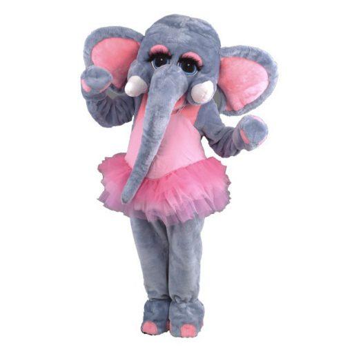 Complete olifant mascotte