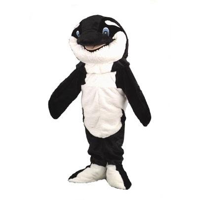 Complete orka mascotte