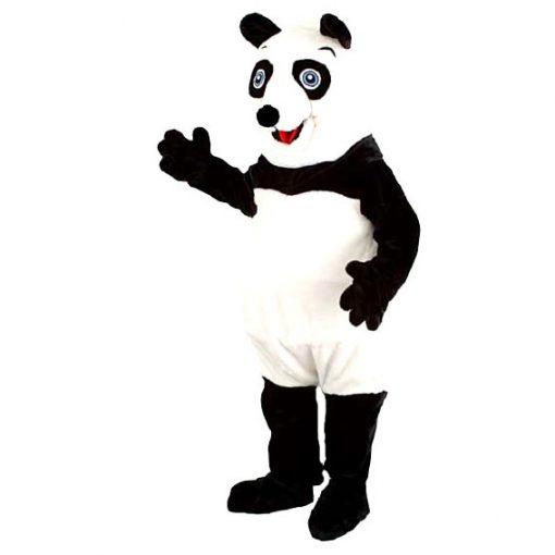 Complete panda mascotte