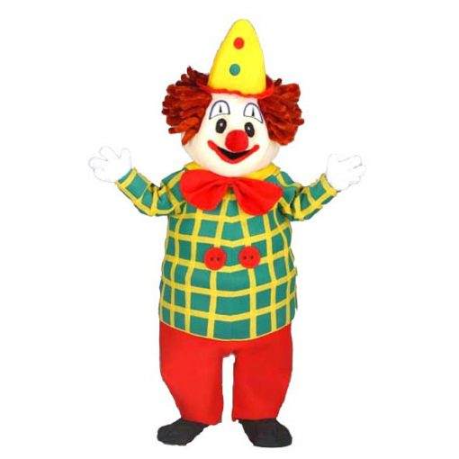 Complete clown mascotte