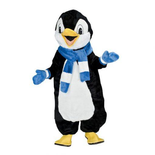 Complete pinguin mascotte