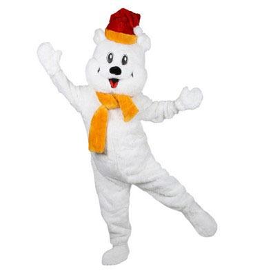 snowy de wittebeer mascotte