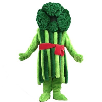 Broccolipak, Broccoli mascotte