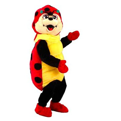 Lieveheersbeestje mascotte