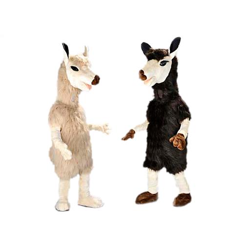 alpaca mascotte
