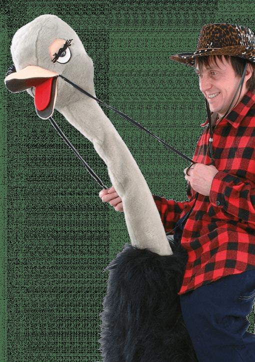 struisvogel mascotte