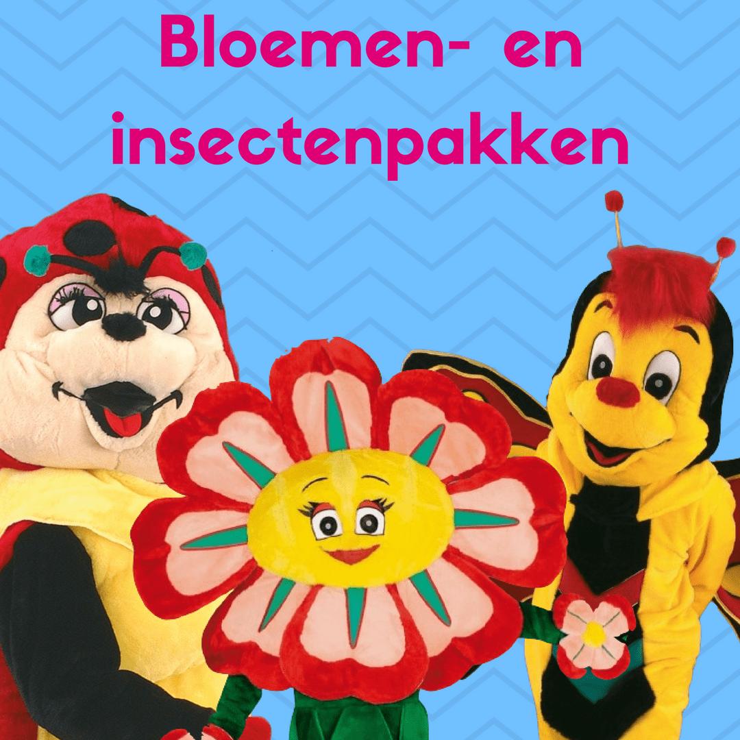 Bloemen- en insectenpakken