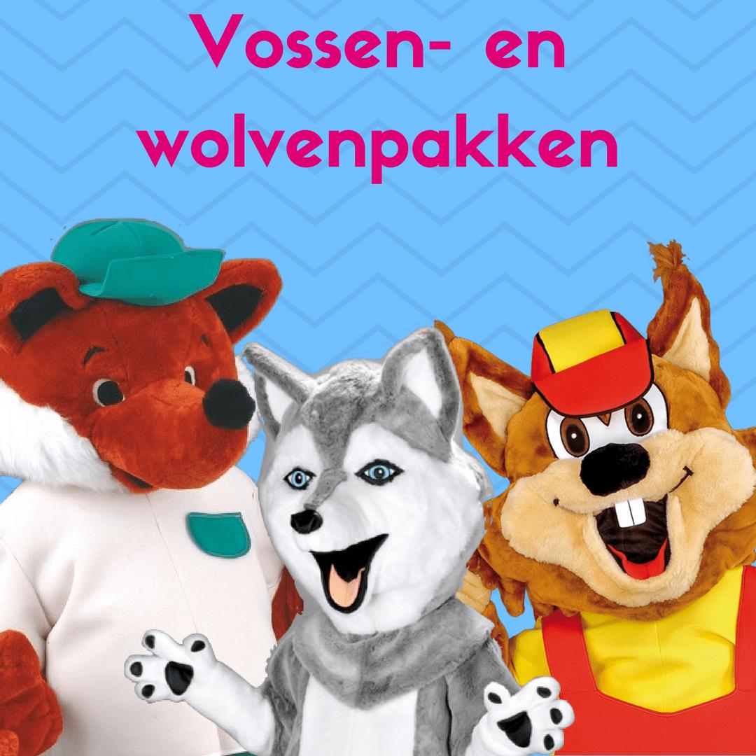 Vossen- en wolvenpakken